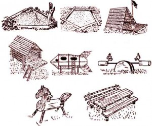 дарим радость детям - организуем детский городок на даче