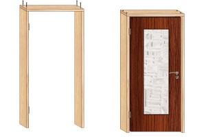Размеры дверного проёма: стандарты, как рассчитать