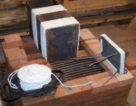 Печь для бани своими руками из кирпича