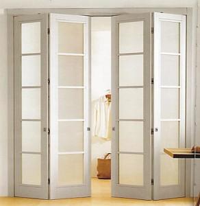 Складные двери: гармошка или книжка