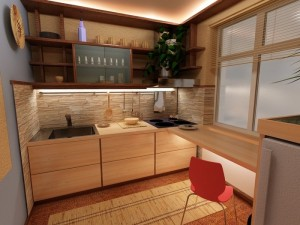 Создаем уют на даче: как обустроить маленькую кухню