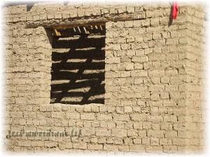 постройка из кирпича-сырца