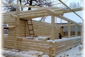 строительные работы в зимний период