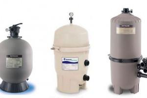 Фильтры для бассейнов: песочные, диатомовые, картриджные