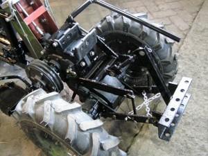 Переделка мотоблока в мини-трактор